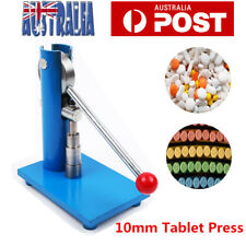 Manual Punch Tablet Press Pill Making Machine Maker for Home Lab Use