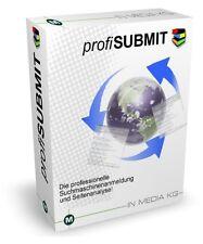 profiSUBMIT - Eintragssoftware und Suchmaschineneintragssoftware - CD-Version