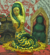 The Statue Queen of Naga Thai witchcraft voodoo sorcery Magic top buddha Amulet