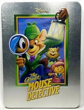 Disney The Great Mouse Detective Limited Edition Tin Steelbook Collector's w COA