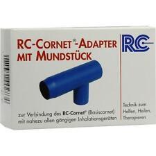 RC Cornet Adapter m.Mundstück f.Inhaliergeräte 1 St