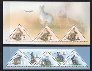 Guinea 2011 - Robbits / Les Lapins / China 2011 - stamps MNH** F101