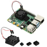 New Square Cooling Fan with Heatsink Kit For Raspberry Pi 4B -GVCA