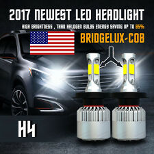 CREE 9003 H4 HB2 120W 12000LM LED Headlight Kit High Low Beam  6000K White Bulbs