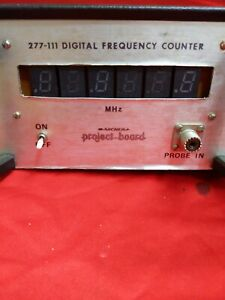 Archer Digital Frequency Counter. 277-111
