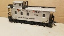 METAL SOUTHERN PACIFIC STEEL CABOOSE CUSTOM PAINTED