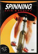 SPINNING Spin & Sculpt DVD Indoor CYCLE Workout BIKE Series VIDEO of WEIGHT LOSS