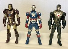 Marvel: Iron Man 3: Assemblers Action Figures: Job Lot/Bundle: Used.