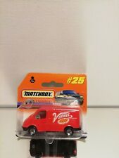 Matchbox  # 25 FORD TRANSIT ON CARD BLISTER 1998