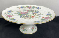Aynsley China Pembroke Footed Cake Stand 10''
