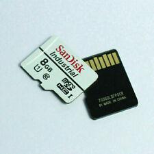 10 x 8GB SanDisk MicroSD Industrial SDHC Memory Card C10 TF UHS-I U1 Origial