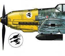 MESSERSCHMITT BF 109 B-F Hundreds of Color Profiles KOEI Book Me-109
