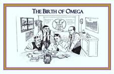 "BIRTH OF Series - Omega Psi Phi Print - BIRTH OF OMEGA 11"" x 17"" Version 3"