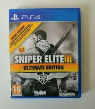 Sniper Elite III 3 Ultimate Edition Playstation 4 PS4 ** GRATIS UK FRANQUEO!!! **