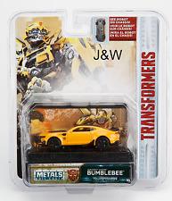 Jada Chevy Camaro Bumblebee Transformers 1/64 14032-W1H