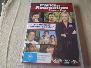 Parks And Recreation : Season 4 (4x DVD, 2013) Region 2 & 4 Amy Poehler