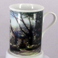 Thomas Kinkade Vintage MORNING GLORY COTTAGE Coffee Cup/Mug PORCELAIN EUC RARE