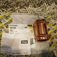 "ProPress 78192 Copper Coupling  1 ½""x1 ½"" P1xP2 Viega"