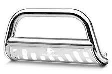 Black Horse 1998-2004 Toyota Tacoma Stainless Bull Bar Bumper Guard BB80234-SP