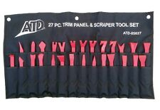 ATD 27pc Non-Marring Trim Panel & Scraper Tool Set with Pouch #85827