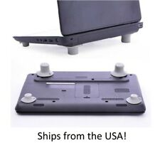 4Pcs Notebook Accessory Laptop Heat Reduction Pad Cooling Feet Holder Plastic