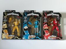 Power Rangers Ninja Storm Red, Blue, Yellow Ranger Legacy Collection