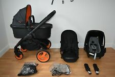 Travel System 3in1 iCandy Peach  Desinger Collection  Black Edition