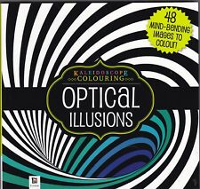 Kaleidoscope Colouring Book: Optical Illusions - 48 Mind Bending Images
