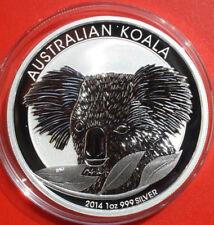 "Australien: 1 Unze ""Koala"" 2014-P, MG, 1 Dollar Silber  #F2534, Perth Mint"