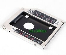 Apple Macbook Pro/Unibody Caddy Optibay 2nd HDD/SSD SATA Replaces DVD-D 9.5mm