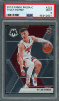 Tyler Herro Miami Heat 2019 Panini Mosaic Basketball Rookie Card #223 PSA 9 MINT
