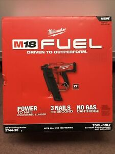 Milwaukee 2744-20 Framing Nailer 21* Tool Only New/Sealed