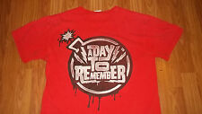 Florida emo metal Band A DAY TO REMEMBER T-Shirt Medium Pop Mosh alternative
