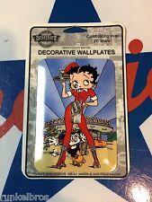 classic BETTY BOOP CAR HOP - 1950'S DINER  -  retro powder finished SWITCH PLATE