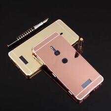 MIROIR / Miroir Pare-chocs en aluminium 2 pièces rose pour Sony Xperia XZ2