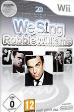 Nintendo Wii We Sing Robbie Williams OVP TOP Condizione
