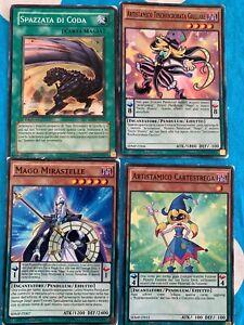 4 Carte Yugioh Carta Magia E Pendulum