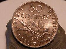 PL5(75) - 50 CENTIMES - SEMEUSE - 1898 - ARGENT - QUALITE SUP+/SUP !