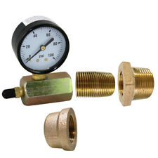 Brass Pressure Test Kit for Deluxe, Stainless Steel or Classic Radiant Manifolds