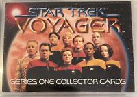 Star Trek Voyager - Series 1 (1995) SkyBox Collector Card Set - Lot of 90