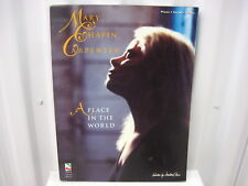 Mary Chapin Carpenter A Place in the World Piano Vocal Guitar Music Song Book