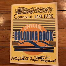 Vintage Conneaut Lake Park Colorong Book, Roller Coaster, Amusement Park