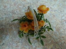 Vintage Basket Of Orange Roses For Betsy Mccall-Barbie-Ann Estelle-1960'S-Read