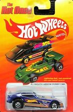HOT WHEELS THE HOT ONES PLYMOUTH ARROW FUNNY CAR BLUE W+