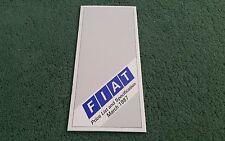 March 1987 FIAT UK PRICE LIST BROCHURE 126 PANDA UNO STRADA X1/9 REGATA CROMA