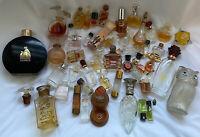 Vintage Mini Perfume Lot 48 Bottles Van Clef & Arpels, YSATIS, Chloe