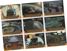 "Star Trek Voyager Closer To Home: 9 Card ""Advanced Technology"" Chase Set AT1-AT9"