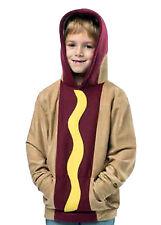 Boy's Rasta Imposta Pullover Sweatshirt Hoodie Hot Dog Child Halloween Small 4-6