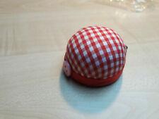 Nadelkissen Tomate rosa mit grauen Punkten