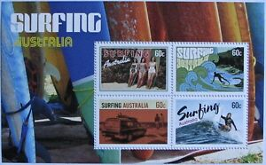 AUSTRALIA #3861c-d: VF MNH / MH 'Surfing Australia'